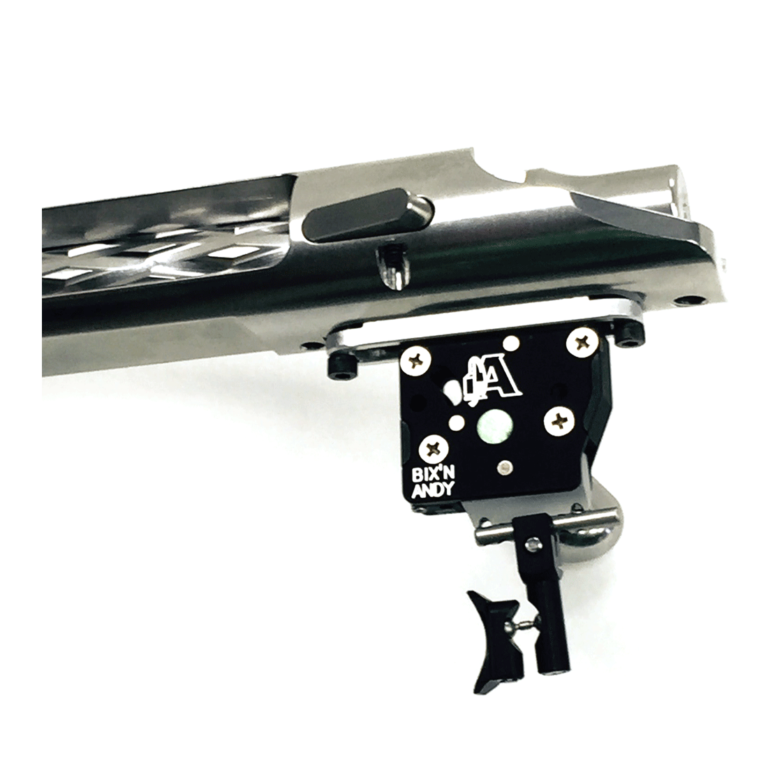 Bix'n Andy two stage competition trigger mounted on an action