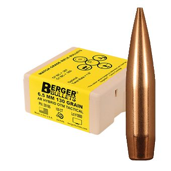 Berger Bullets 6.5mm 130 grain PN:26195