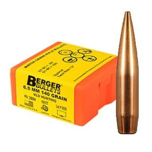 Berger Bullets 6.5mm 140 grain PN:26504