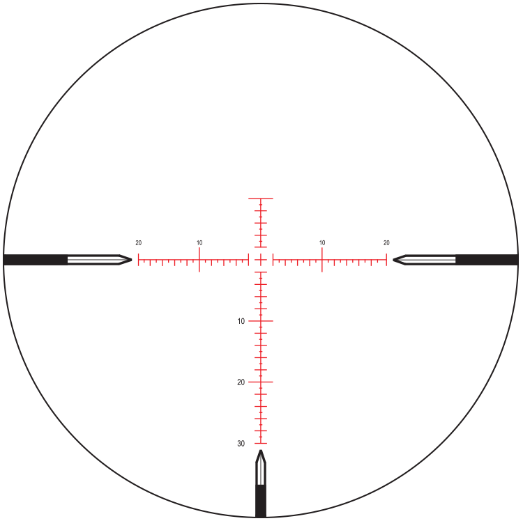 MOAR - 30MOA | Nightforce Reticle