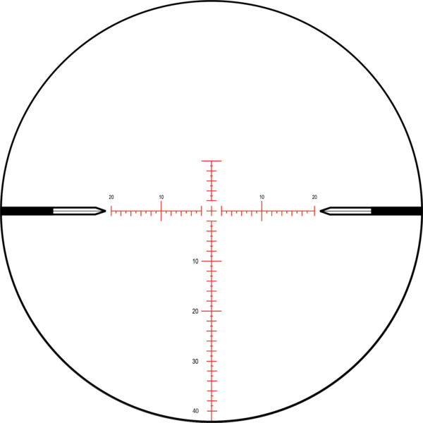 MOAR - 80 MOA | Nightforce Reticle