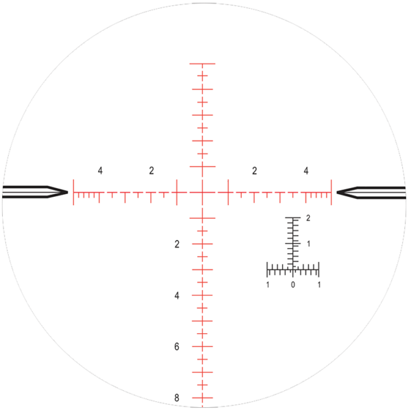 MilR-F1 | Nightforce Reticle