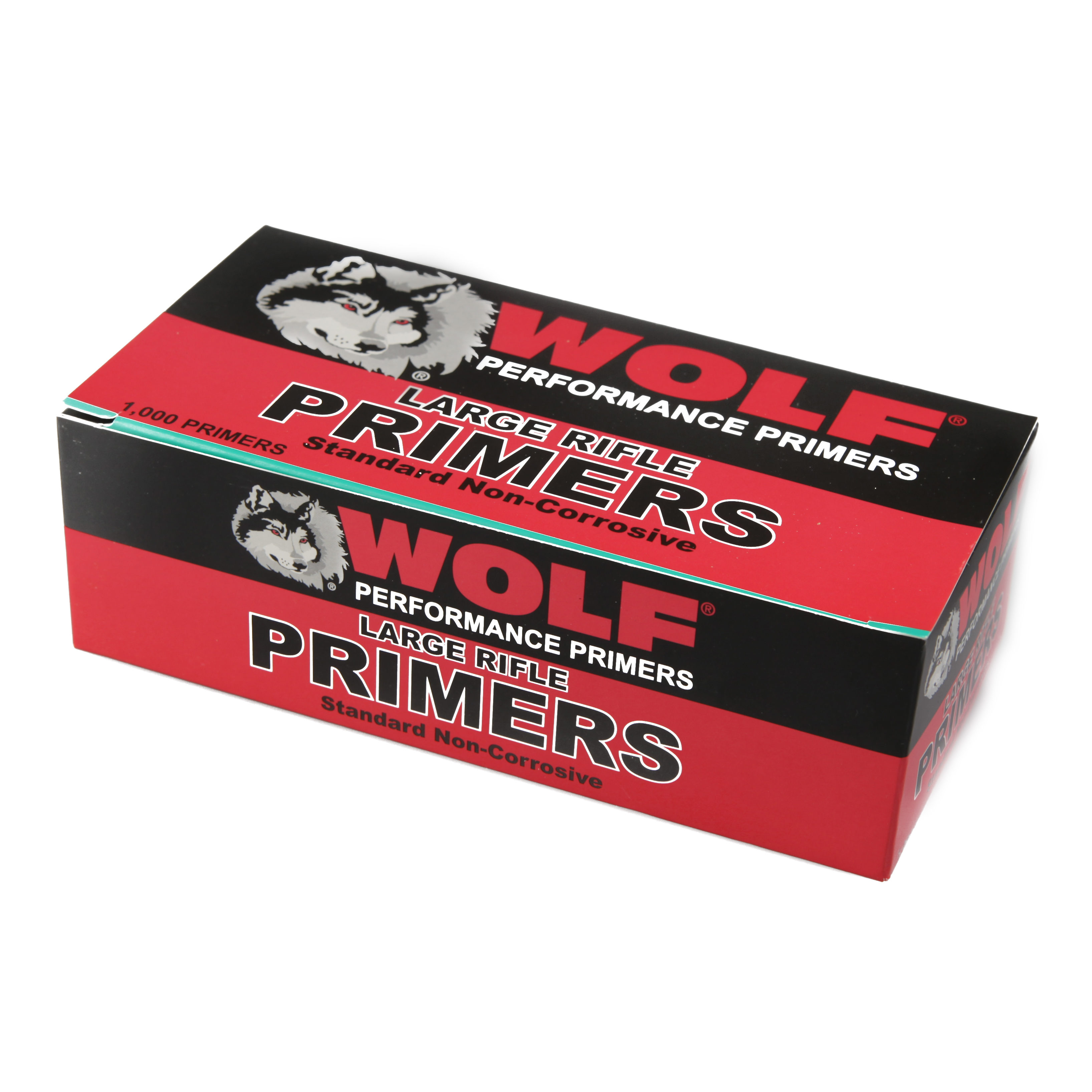 Wolf - Large Rifle Primers (Qty 1,000)